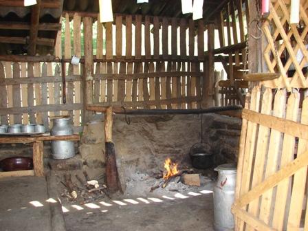 Interior de stana