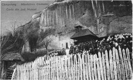Manastirea Comunei Corbi - Muscel (1923)