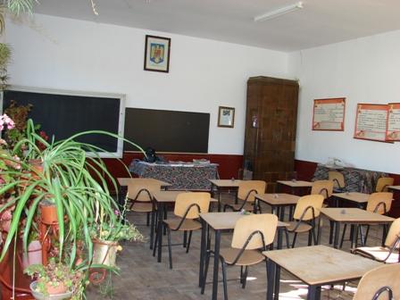 O sala noua de clasa