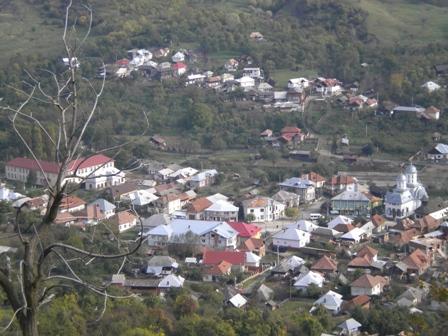Satul Corbi ( imagine panoramica )